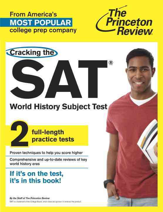 Princeton Review Cracking the SAT World History Subject Test By Princeton Review (COR)