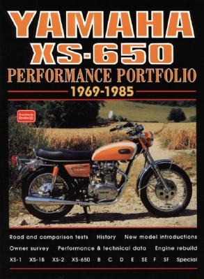 Yamaha Xs-650 1969-1985 By Clarke, R. M.